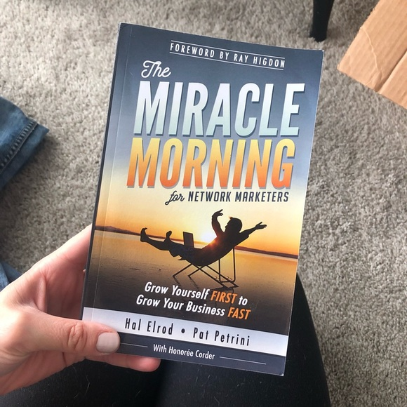 3/$20 - The miracle Morning for network marketers
